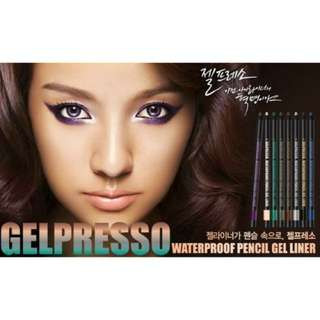 Clio Gelpresso waterproof pencil gel liner (Golden black)