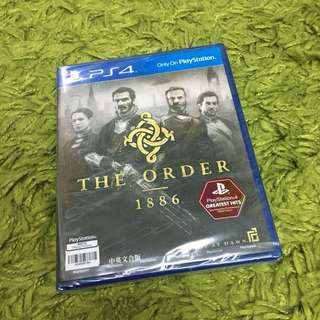 Sealed The Order 1886 PS4 Game