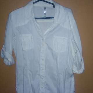 Freego Ladies White Long sleeves
