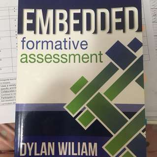 Embedded Formative Assessment