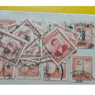 PHILIPPINES = vintage Collection of 20 Stamps
