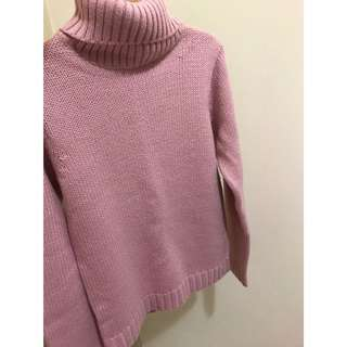 USED法國La redoute高領套頭毛衣