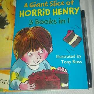 Horrid henry 3 in 1 giant slice