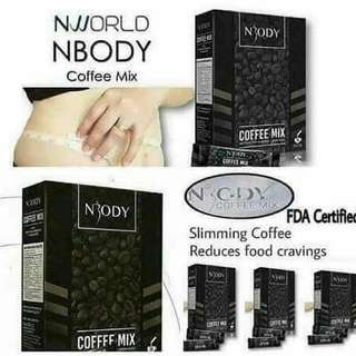 NBODY COFFEE MIX (Slimming coffee)