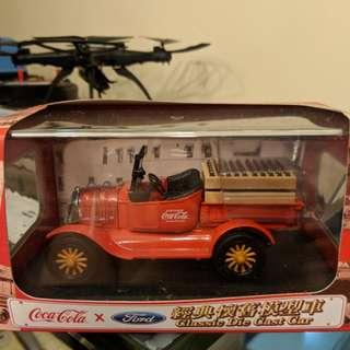 全新 絕版 可口可樂 經典 懷舊模型車