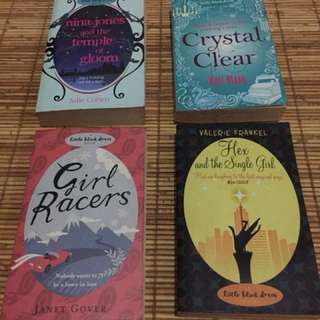 4 English Novel Little Black dress series ( harga satu paket bukan satuan)