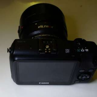Canon EOS M with YN 50mm 1.8