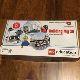 Building My SG Limited Edition SG 50 Lego