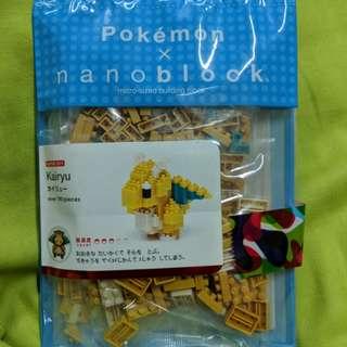 寵物小精靈 啟暴龍 Nano Block Pokemon