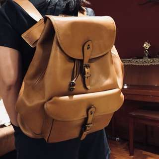 Polo Ralph pure leather backpack