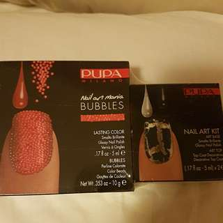 Pupa nail art mani bubbles and nail art kit