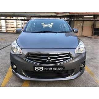 Mitsubishi Attrage 1.2 Auto CVT