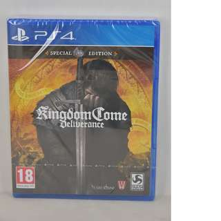 全新 PS4 Kingdom Come Deliverance (美版)