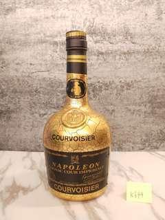 (K699)Courvoisier Napoleon Cognac Cour Imperiale 金樽 特級 拿破崙 700ml