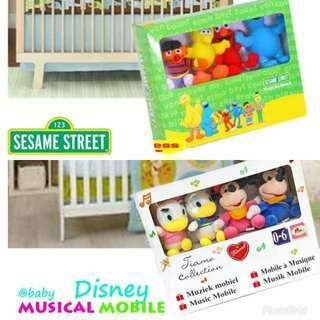 Crib Muscial Mobile