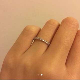 全新施華洛世奇 Swarovski水晶戒指 有單有盒