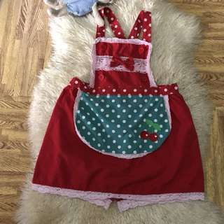 Ala Cinderella Apron used onced Best fits to 5-8 years old /direct contact #09956396640
