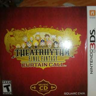 Thearhythm Final Fantasy Curtain Call Limited Edition