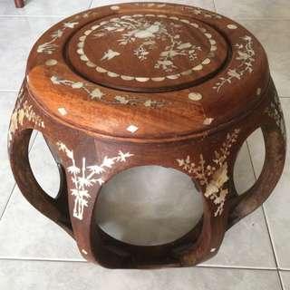🍄Olsen Wooden Stool 🐲