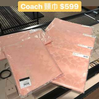 Coach 頸巾