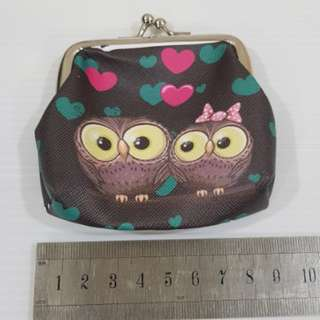 💝W28 Owl coin pouch bag wallet
