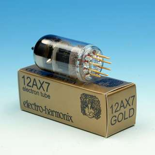 EH 12AX7 Gold tube - ECC83 / 7025 / CV4004