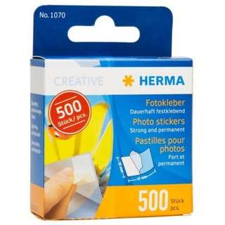 Herma photo stickers double sided