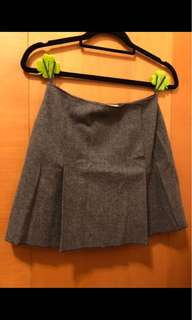 Miu Miu laine wool A line skirt