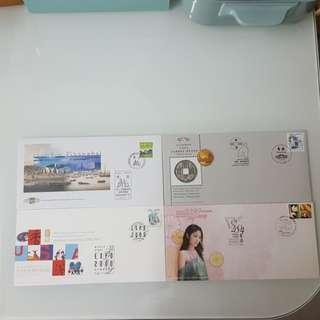 郵票博覽會紀念封4封
