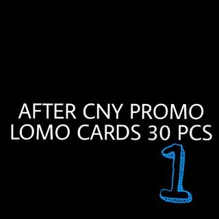KPOP LOMO CARDS 30 PCS
