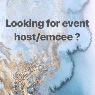 Event host/Emcee