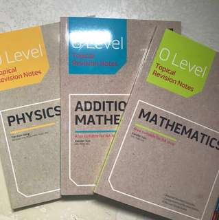 O Level Revision Notes
