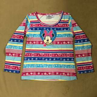 Minnie Mouse long sleeves
