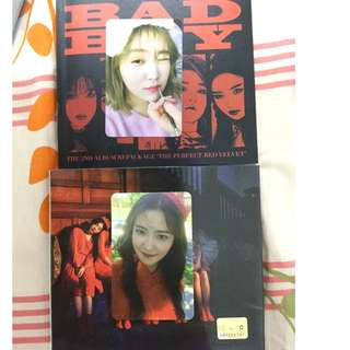 Selling yeri photocards