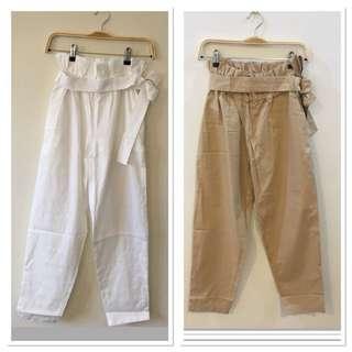 Celana panjang linen