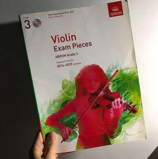 Violin Exam Pieces Grade 3