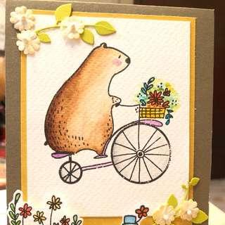 Good day handmade card