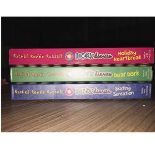 Dork Diaries 'Dear Dork' + 'Holiday Heartbreak' + 'Skating Sensation'