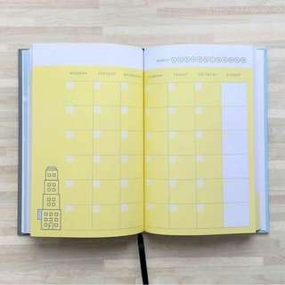 Eighteen to Nineteen – 2018 Journal / Planner Book