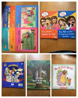 Children Story Books Preloved