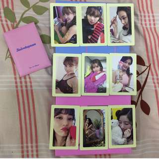Twicetagram pre order benefit pc set offer!