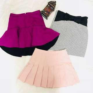 Combo Skirt - 3 item