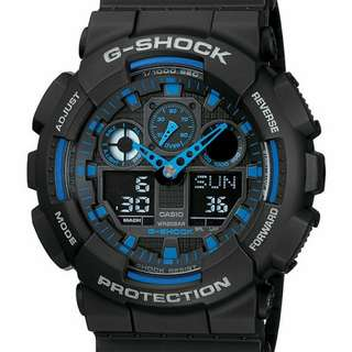 CASIO G-Shock GA-100-1A2DR