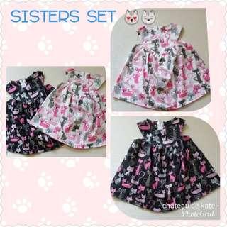 😻😸 Sisters set - kitties