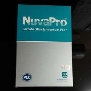 Nuvapro probiotic powder for Eczema