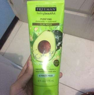 Freeman mask Avocado oatmeal