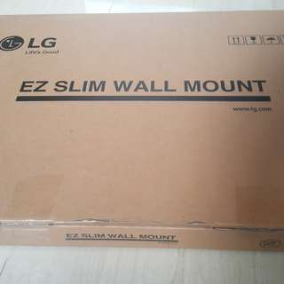 LG LED TV EZ slim wall mount