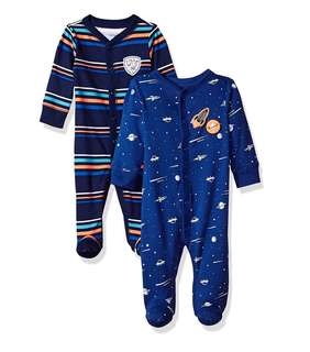 *9M* Brand New Carter's Sleep And Play For Baby Boy