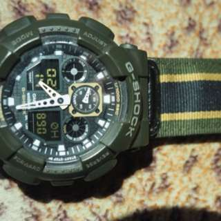 Casio g-shock GA 100-MC