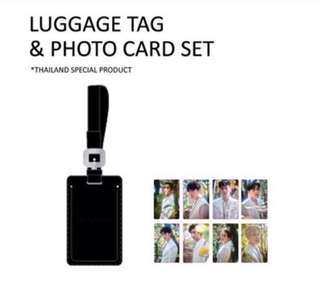 [PREORDER] EXO THE ELYXION LUGGAGE TAG LIMITED PHOTOCARD